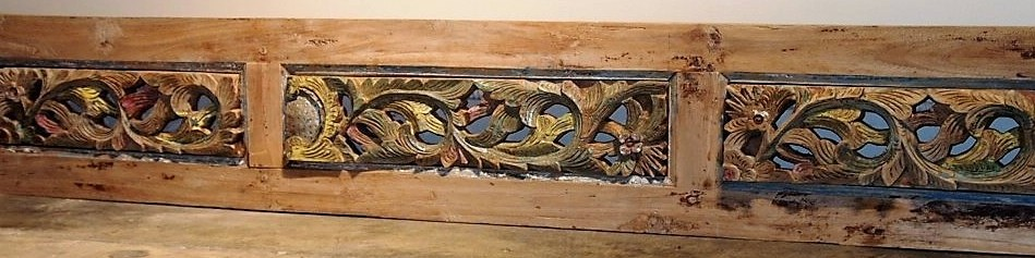 Old Carved Teak Panel 151