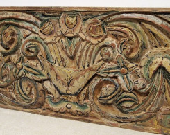 Old Carved Double Sided Architectural Panel