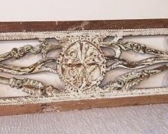 Old Carved Teak Panel 138