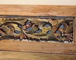 Old Carved Teak Panel 151