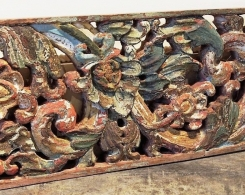 Old Carved Teak Panel from Madura 190