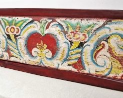 Old Painted Panel from Madura
