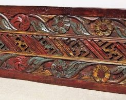Old Carved Teak Panel 161
