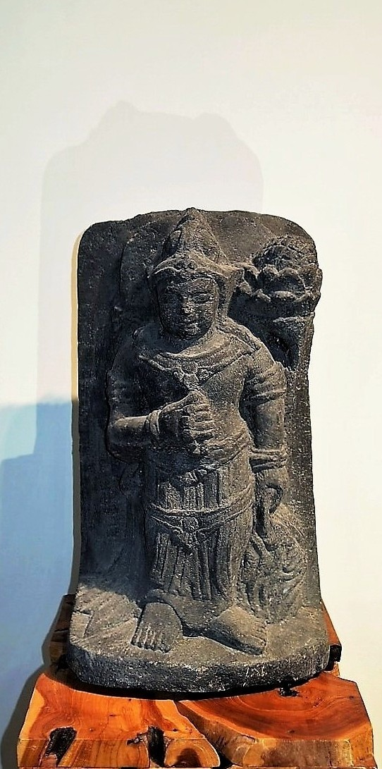 Balinese Hand Carved Stone Relief Statue