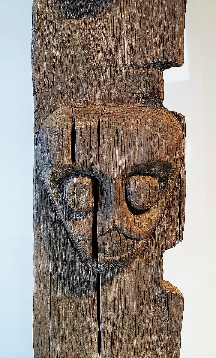 Carved Tribal Dayak Ladder 2