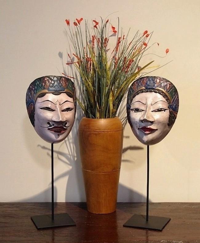 Javanese Masks Wayang Topeng