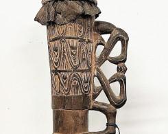 Asmat Tribal Drum
