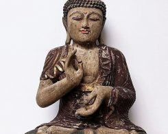 Balinese Buddha Statue Antique Finish