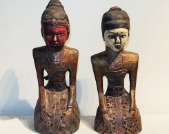 Large Loro Blonyo Indonesian Wedding Statues