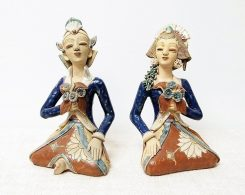 Loro Blonyo Ceramic Indonesian Wedding Figures