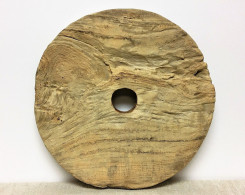 Vintage Teak Wheel