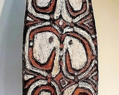 Asmat Tribal Shield from Papua