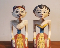 Loro Blonyo Indonesian Wedding Statues