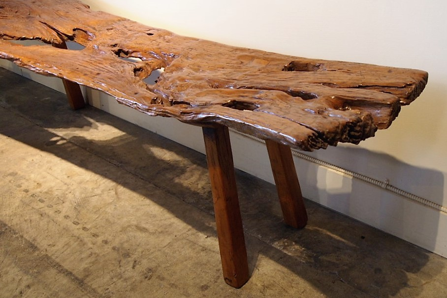 Old Teak Bench from Java