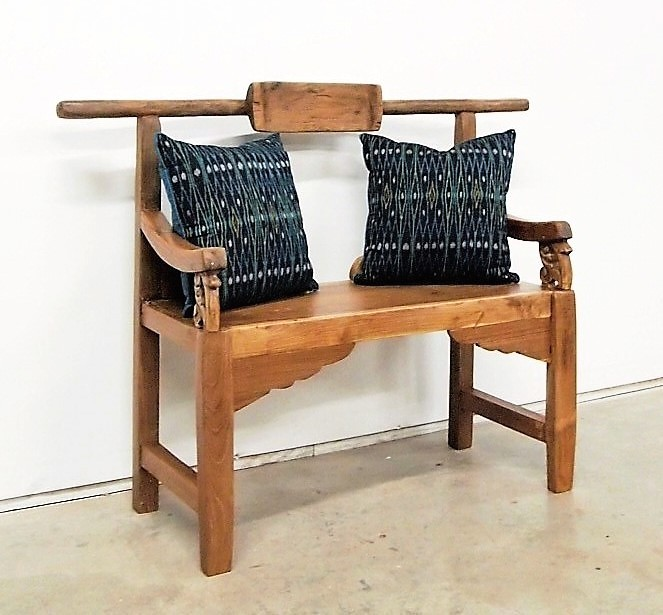 Wabi-Sabi Reclaimed Teak Bench