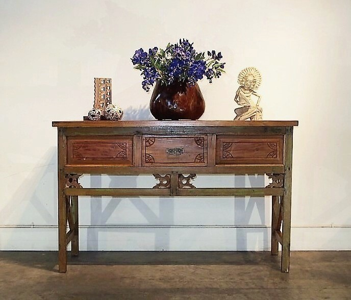 Bali Console Table with Drawer
