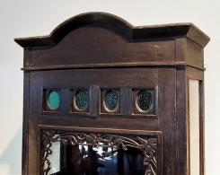 Old Javanese Teak Display Cabinet