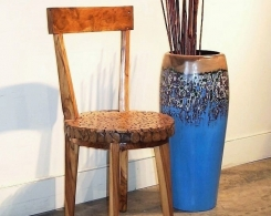 Mosaic Seat Accent Chair