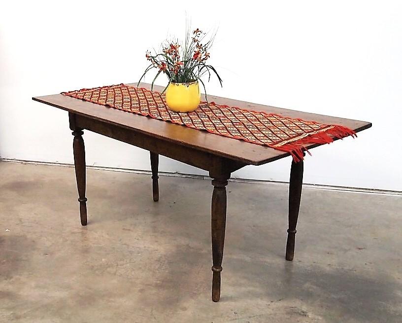 Vintage Teak Colonial Table