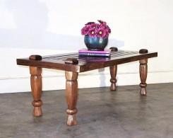 Reclaimed Teak Weavers Style Coffee Table