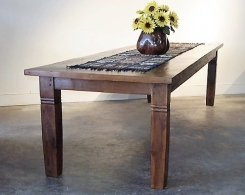 Large Reclaimed Teak Dining Table
