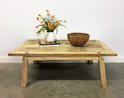Wabi-Sabi Spalted Tamarind Wood Coffee Table