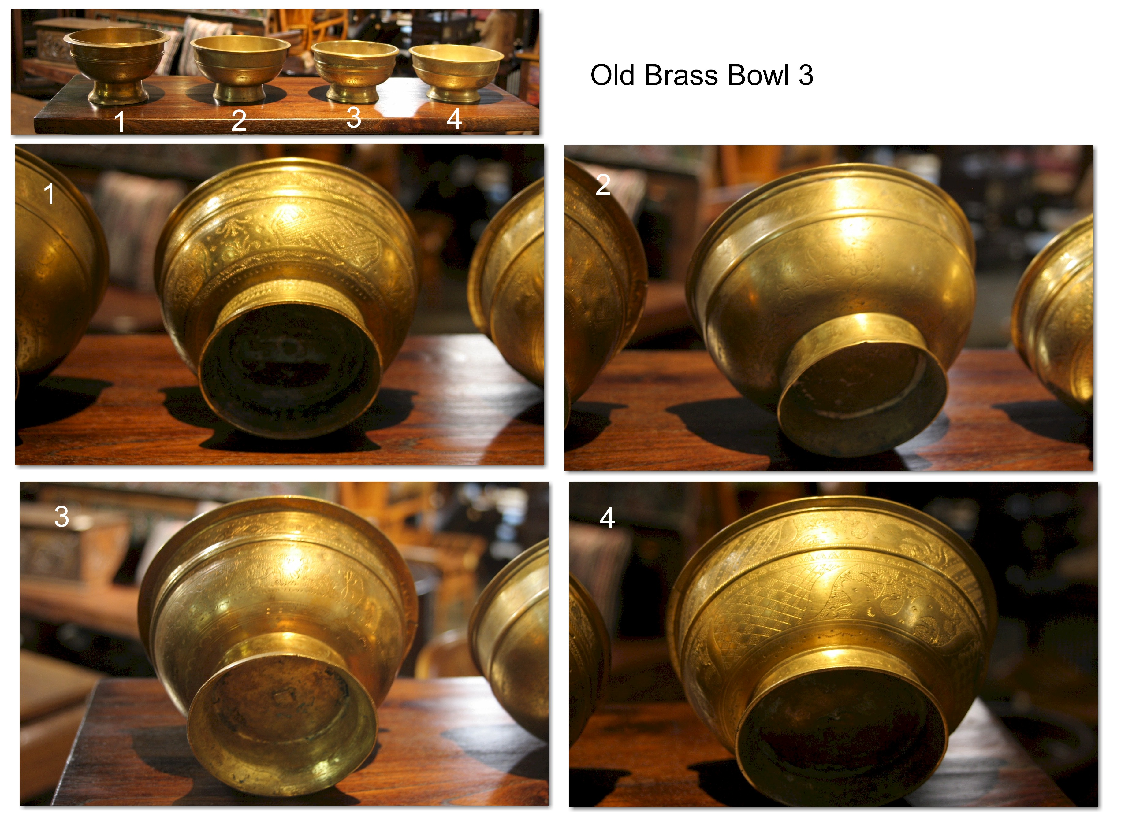 Old Brass Bowl 3