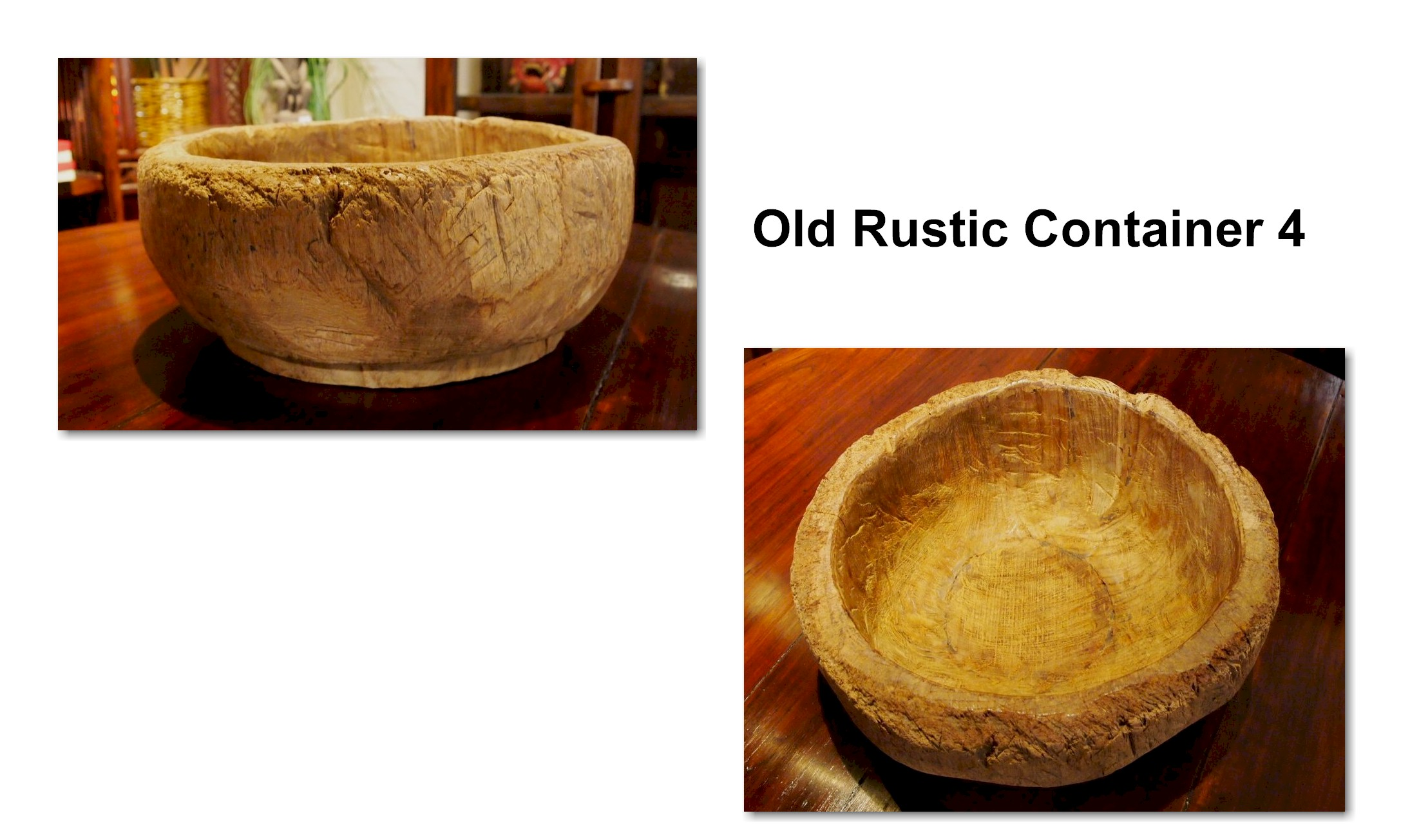 Old Rustic Container 4
