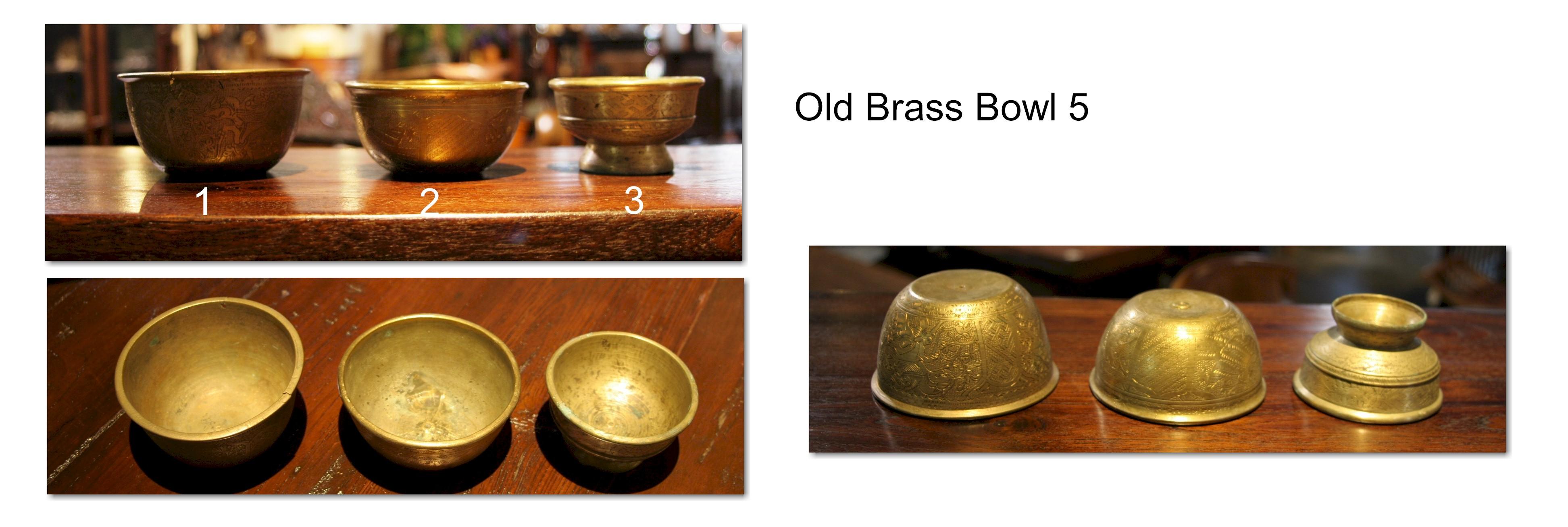 Old Brass Bowl 5