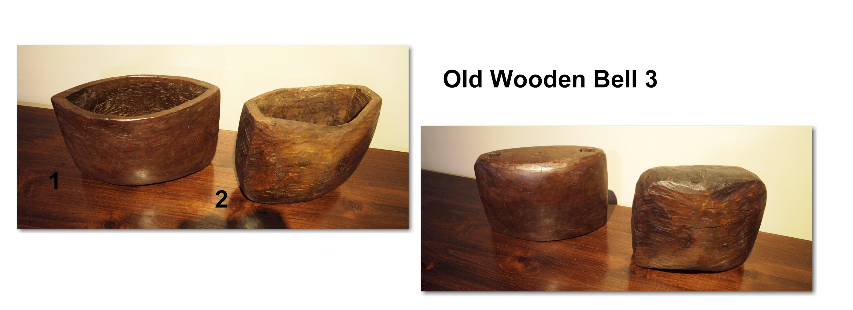 Old Wooden Bell 3