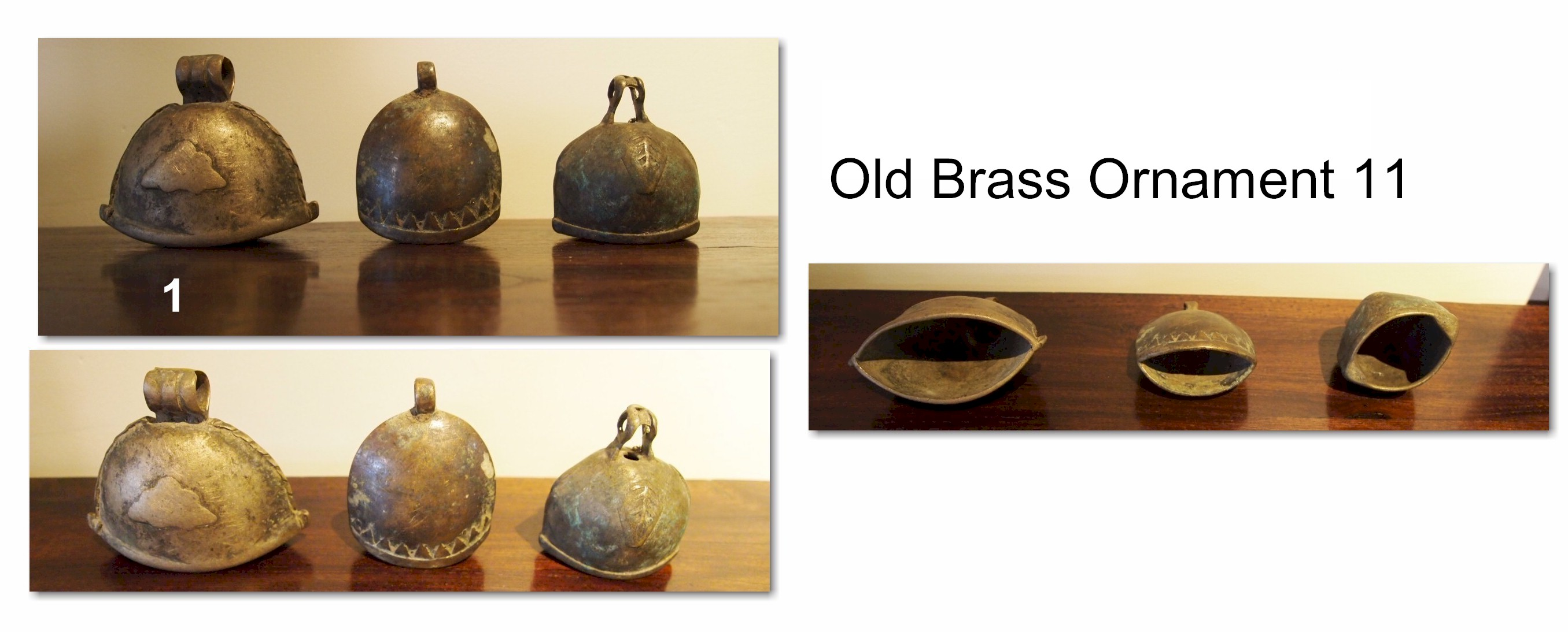 Old Brass Ornament 11