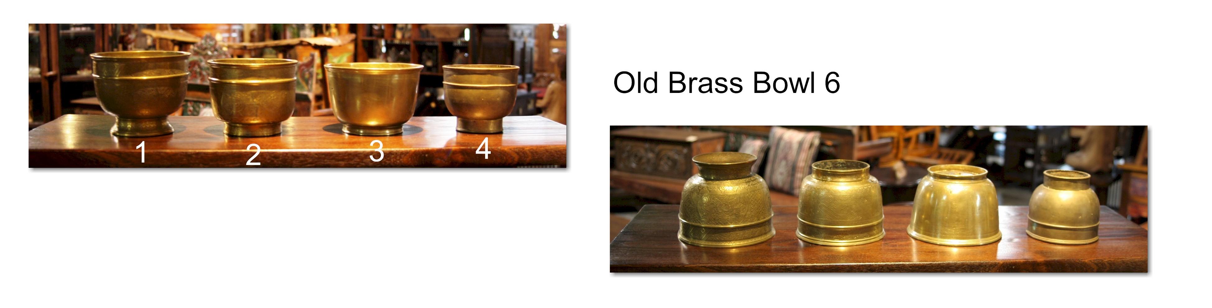 Old Brass Bowl 6