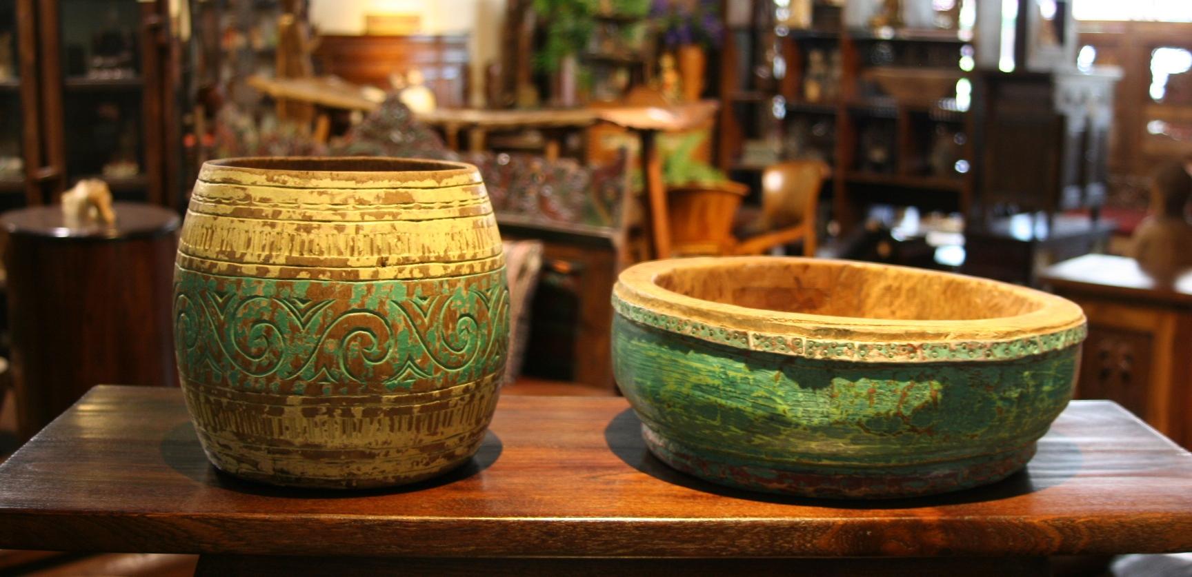 Old rustic Bowl 4