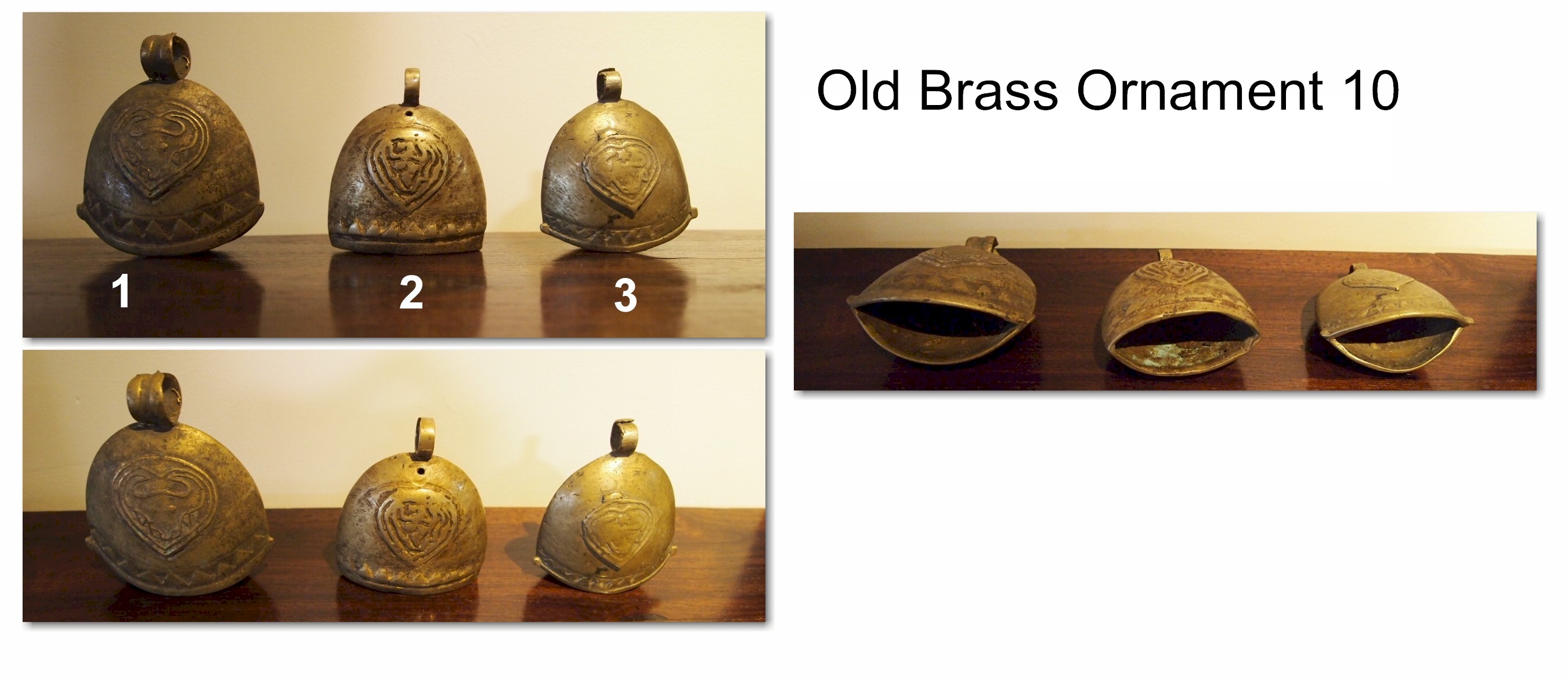 Old Brass Ornament 10