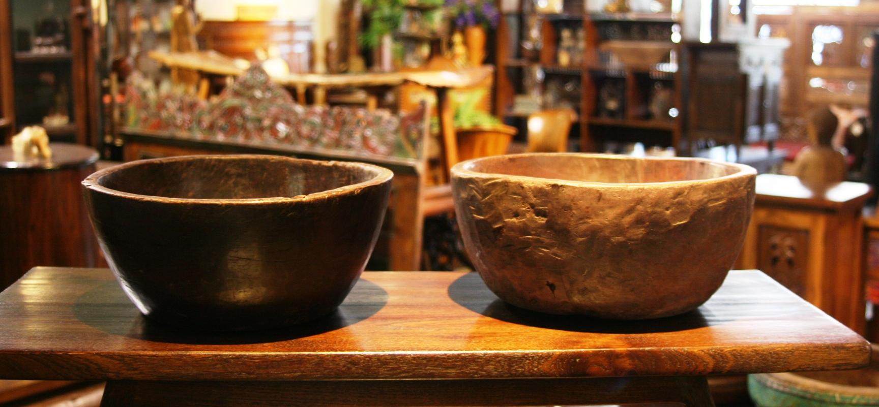 Old Rustic Bowl 3