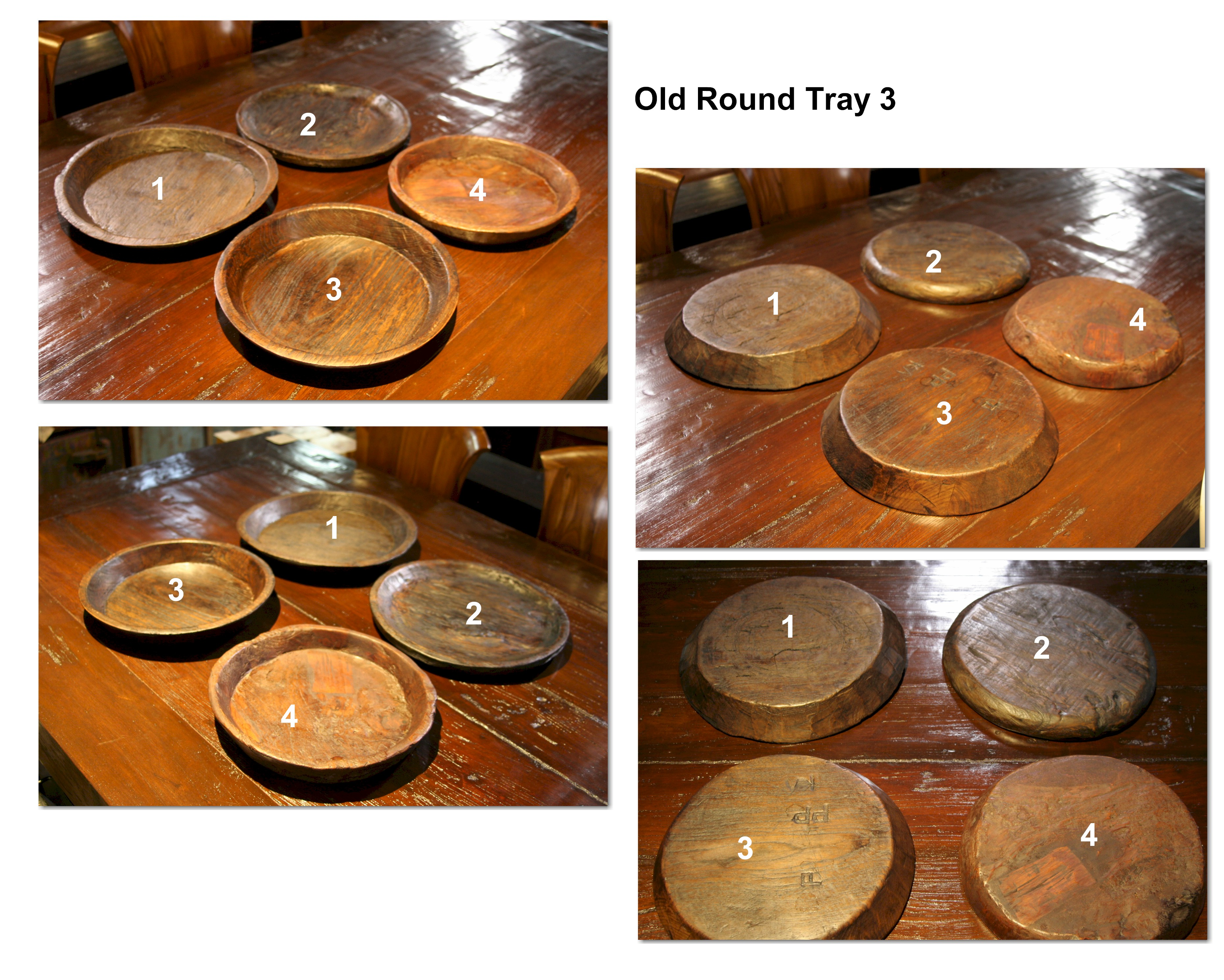 Old Round Tray 3
