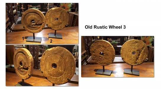 Old Rustic Wheel 3