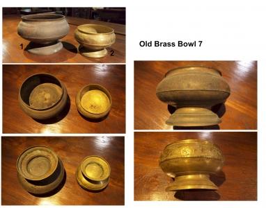 Old Brass Bowl 7