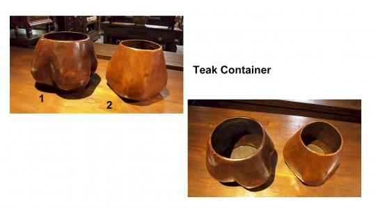 Teak Container