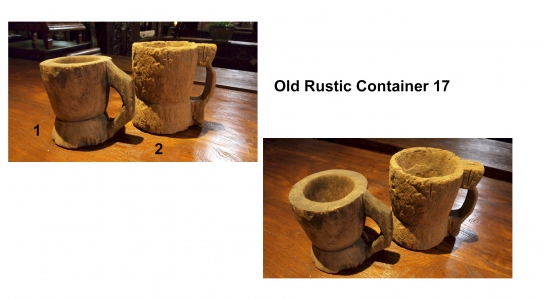 Old Rustic Container 17