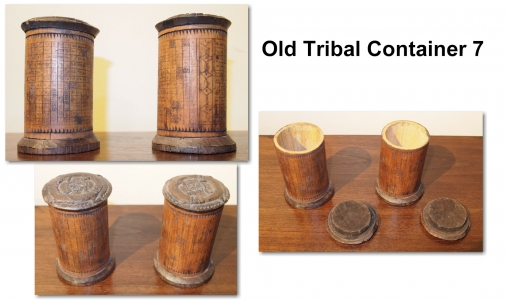 Old Tribal Container 7