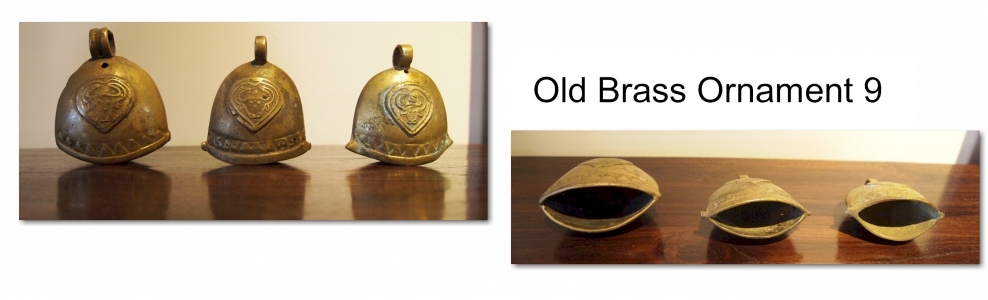 Old Brass Ornament 9