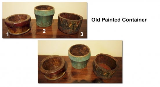 Old Painted Container 1