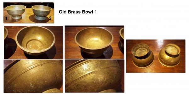 Old Brass Bowl 1