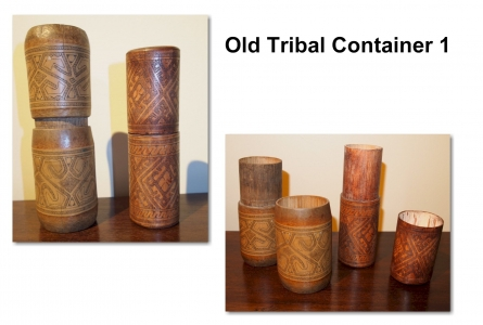 Old Tribal Container 1