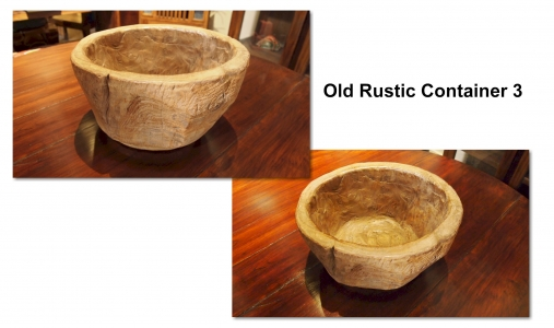 Old Rustic Container 3