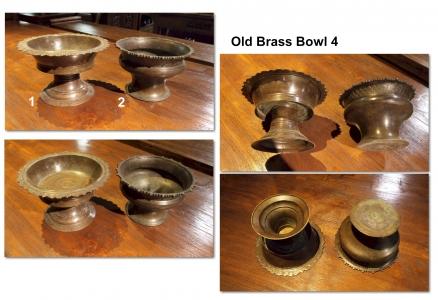 Old Brass Bowl 4